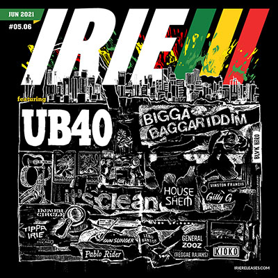 Irie Releases June 2021 featuring UB40